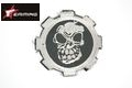 EAIMING GEAR Skeleton Embroidery Velcro Patch (Silver)