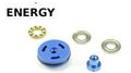 Energy Ball Bearing ABS Piston Head – Blue