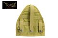 Flyye Cordura Nylon RAV Gas Mask Bag – Khaki