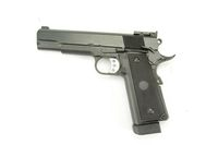 WELL Metal Frame 1911 Gas Blow Back HandGun Pistol (Black)