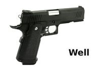WELL Metal Slide & Frame Hi-Capa 4.3 GBB
