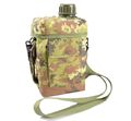 US Marking Water Bottle w/ Shoulder Pouch -Woodland Italy Camo