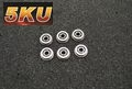 5KU Metal High Performance 9mm Bearring Bushings 6pcs