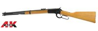 A&K Metal Real Wood Winchester M1892 Airsoft Gas Rifle