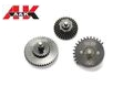 A&K Airsoft 100:300 Ratio V2./V3 AEG Gearbox Gear Set-Black
