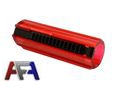 Army Force 14 Steel Teeth CNC Piston For Gearbox Ver. 2/3-Red