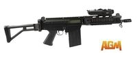 AGM SA58 OSW Airsoft AEG Rifle with Foldable Stock
