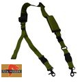 Big Dragon Nylon Single/Two Point Urban Rifle Sling- Olive Drab