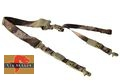 Big Dragon Nylon Single/Two Point Urban Rifle Sling- A-TACS