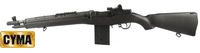 CYMA Solid M14 CM032A Airsoft AEG Rifle (Black)