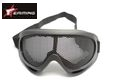 EAIMING Airsoft No Fog Metal Mesh DL Style Goggle –Black