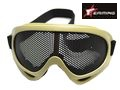 EAIMING Airsoft No Fog Metal Mesh DL Style Goggle – CB