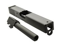 HK3 Aluminum Slide and Barrel Set for TM/WE G17 (BK)