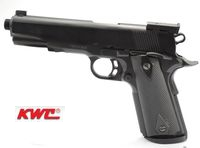KWC Colt National Match GBB Pistol (Black, 14 mm Clockwise)
