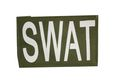 NOB 115mm x 75mm SWAT Patch Olive Drab (Velcro)