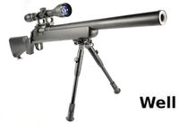 WELL BoltAction MB-02 M700 Airsoft Scout Sniper Short Type (BK)
