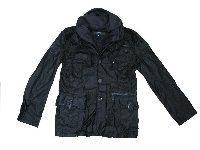 Military Duty Jacket - BLACK 30381#