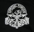 SPECIAL FORCES TEAM SGT Short Shirt -Black