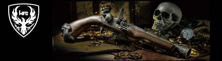 HFC 18th Century Pirate Gas Flintlock Pistol