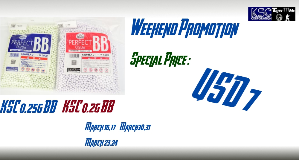 KSC Weekend Promote : BB sold USD7