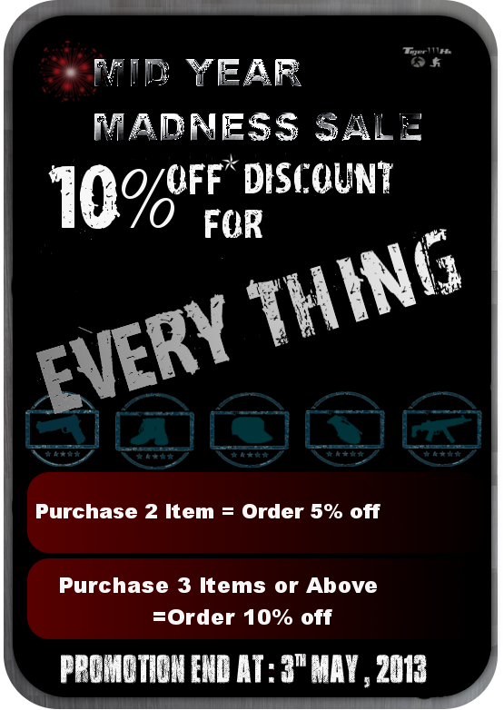 MID YEAR MADNESS PROMOTION