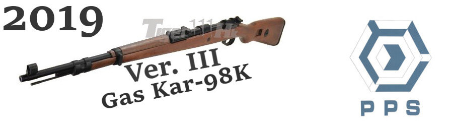 PPS Airsoft (Ver. III) wood Frame Kar-98K Gas Rifle
