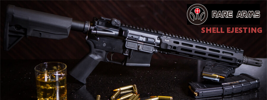 RARE ARMS AR-I5 Shell Ejecting CO2 GBB Rifle (Black)