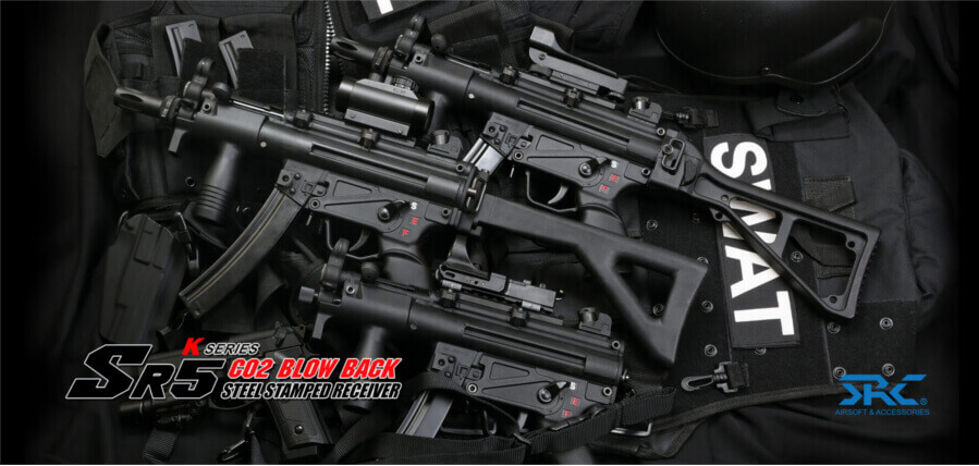 SRC Airsoft MP5 CO2