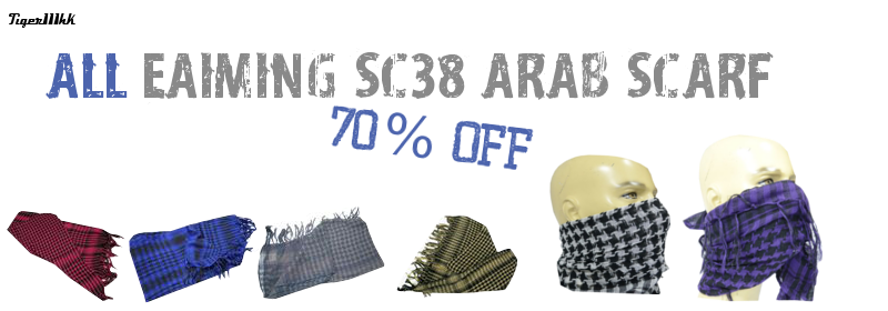 All EAIMING SC38 SCARF 70% Off