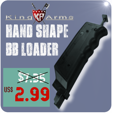 KING ARMS BB LOADER JUST SELL 2.99 USD