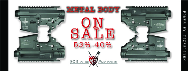 King Arms Metal Boday Big Discount