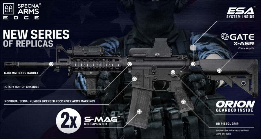 Specna Arms RRA Edge S4 AEG