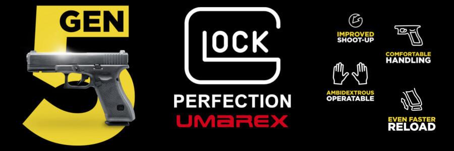 By VFC Umarex Alloy Silde Gen5 GLOCK 17 GBB Pistol