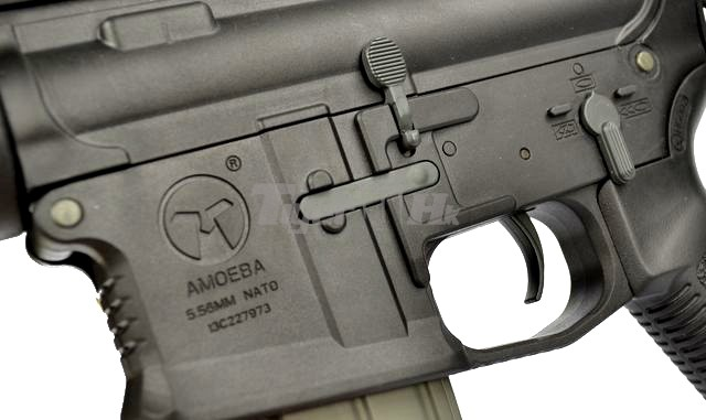 Amoeba M4 Ccp Pistol Aeg Rifle Am003 Black Airsoft