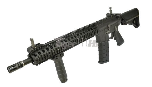 """Airsoft Metal Outer Barrel Carbine Length 320mm 12/""""5 Inches For M4 M16 AEG"""
