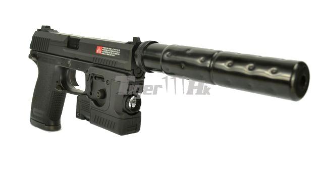 Tokyo Marui Mk23 Socom Gas Nbb Pistol Full Set Black