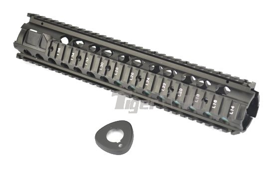 Cyma M16a4 Series 12 Inch Aluminium Ras Ris Handguard Black