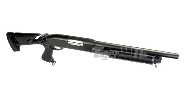 Airsoft Stand CYMA Metal Folding Stock with Plastic Grip For CYMA M870 Shotgun
