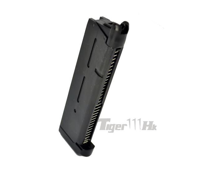 Warriors Orochi 3 Bgm Tight Extended Go: Army MEU Style M1911A1 GBB Pistol (Black Slide, 2-Tone