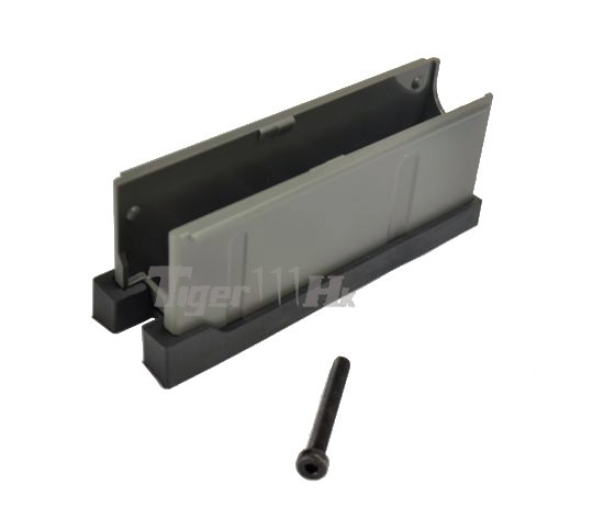 Maple Leaf Mlc S1 Rifle Stock Backup Mag Carrier Black Airsoft Tiger111hk Area
