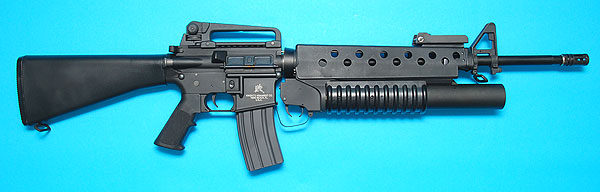 G&P M16A3 with M203 Airsoft Tiger111HK Area M16a3 M203