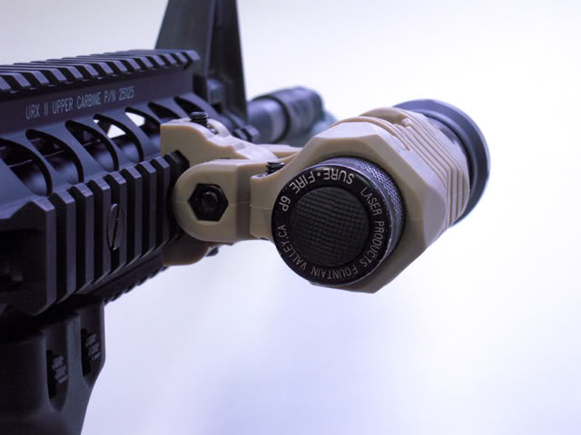 DYTAC 5 Position Flashlight Mount Desert Tan