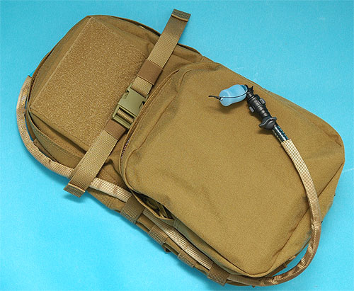 G&P Modular Back Pack with Water Pouch (Sand)