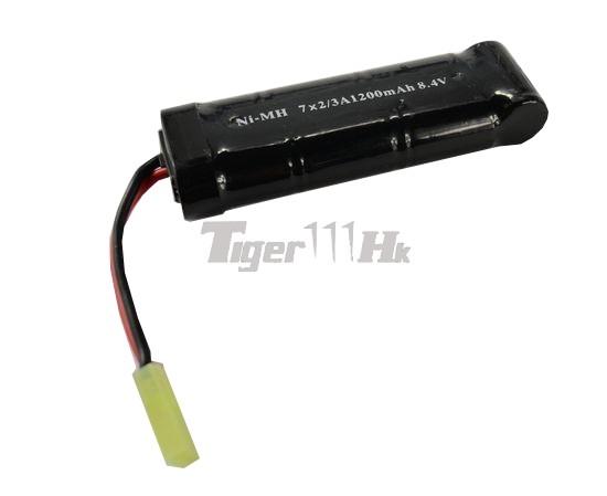 Cool 8.4v 1200mAh Battery -Black (Ni-MH)(Mini Type)(Mini ...