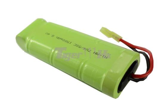 COOL 8.4v 1500mAh Battery (Ni-CD)(Medium Size Type)(Mini ...