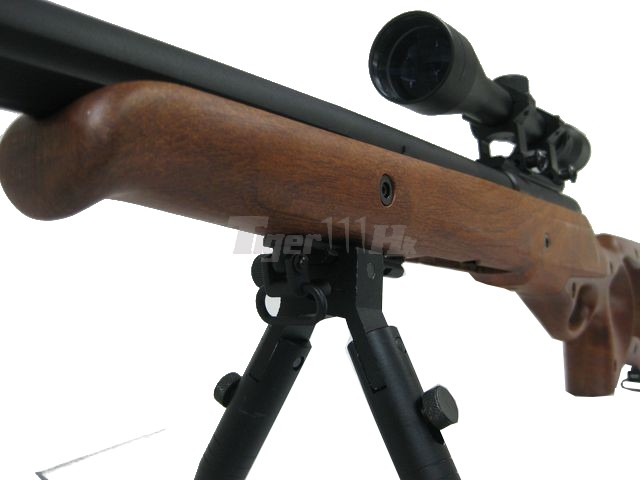 WELL MB-10 Spring Sniper Rifle with Scope and Butt (Wood)