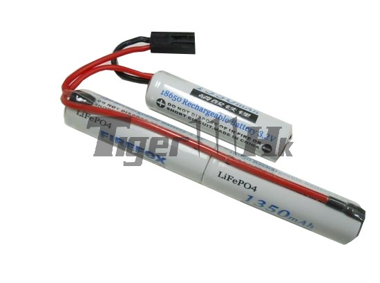 Firefox 9.6V 1350mAh Twin-Stick 12C Type LiFePO4 Lithium Battery