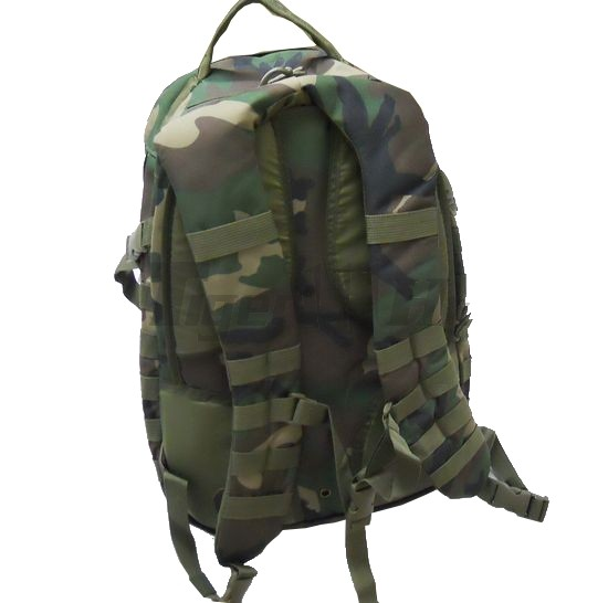 9.11 Tactical MOLLE RUSH 24 Backpack Woodland Camo