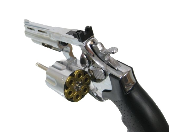 HFC HG-132 6mm Magnum Revolver (Chrome)