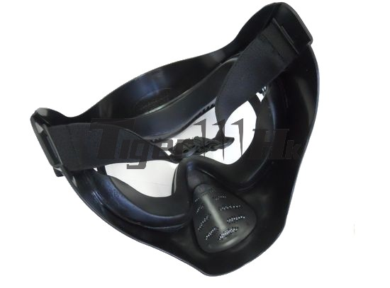 EAIMING Heavy Duty FULL Face Mask with Anti-Fog Lens (BK)